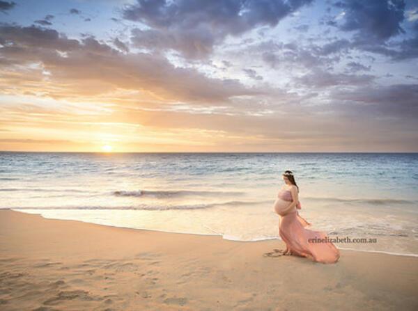 Ето как изглежда една героична майка, бременна с петзнаци!