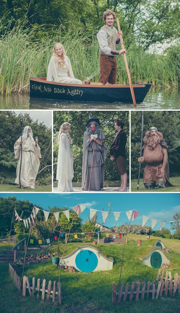 Най-красивите и оригинални тематични сватби на всички времена!