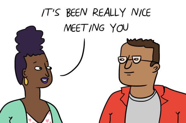Какво казваме, но всъщност имаме предвид на първа среща?