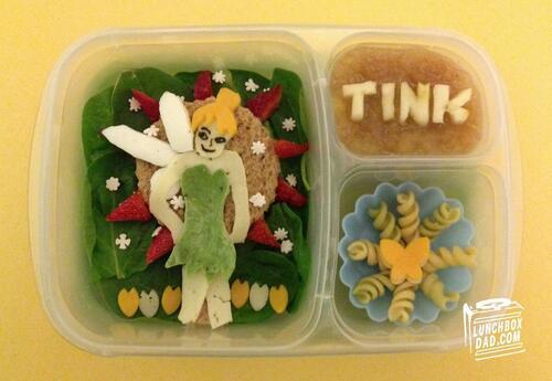 Майка прави тематичен обяд за децата си с героите на Дисни!