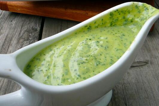 Дресинг с авокадо, подходящ за паста, зеленчуци, риба и други