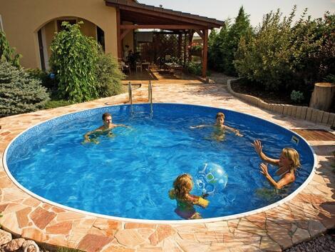 Невероятни басейни за двора Ви