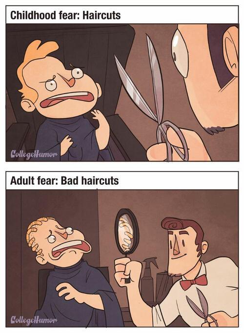 Страховете на децата срещу страховете на възрастните
