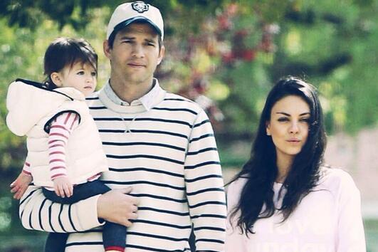 Мила Кунис и Аштън Кътчър имат бебе!