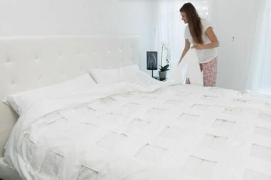 След това ВИДЕО никога повече няма да Ви се налага да си оправяте леглото!