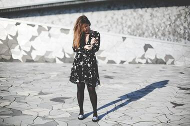Неотразими със звездна рокля