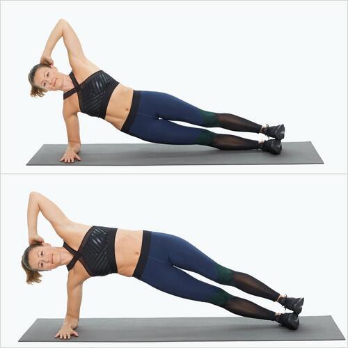 Тренировка за ръце и корем, за която не ви е нужно никакво оборудване (1 част)