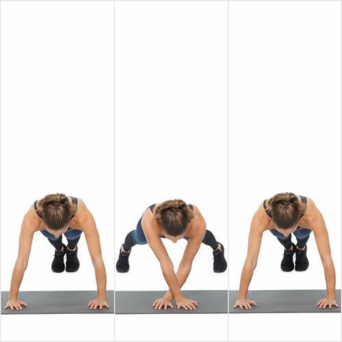 Тренировка за ръце и корем, за която не ви е нужно никакво оборудване(3 част)