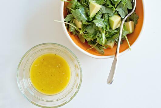 Дресинг за салата с дижонска горчица