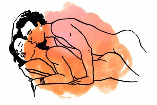 """Истинските причини, поради които мъжете така обичат секс позата """"Хрътка"""""""