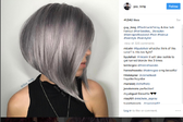 <p>Познаваме металическата тенция в грима, но отскоро навлезе и в косите. Гримьорът на звездите Гай Танг създаде тази мода, която е нещо средно между розово злато и сиво. Цветът наистина е много интересен и косата става повече от интересна. Разгледайте снимките от профила на модния коафьор в Instagram профила му и почерпете идеи.</p>