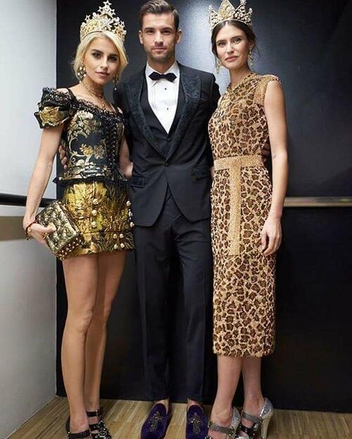 Гришо изгря като модна звезда в седмицата на модата в Милано