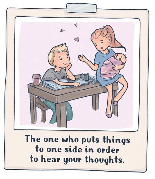 Илюстрации ни показват какво е истинската любов