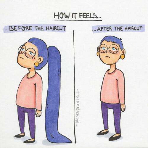 Проблемите на жената, изобразени в забавни илюстрации
