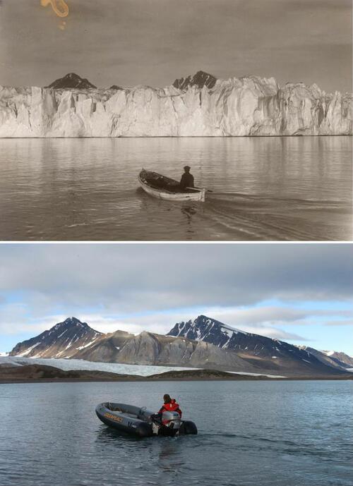 Ето какво е причинило изменението на климата на арктическите ледници