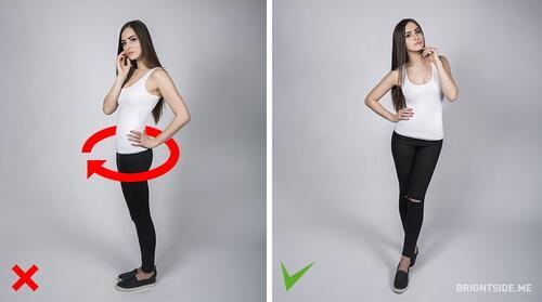 10 трика, за да иглеждате перфектно на снимки (II-ра част)