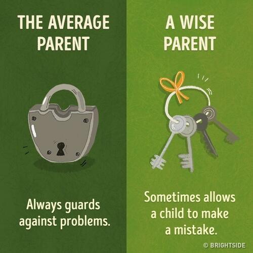 9 съществени разлики между средностатистическия родител и мъдрия родител