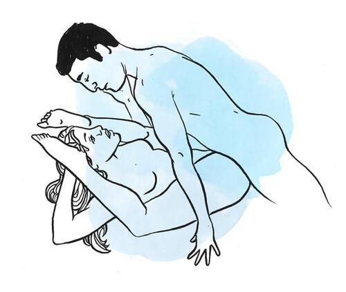 Най-добрите секс пози, за да подобрите сексуалния си живот
