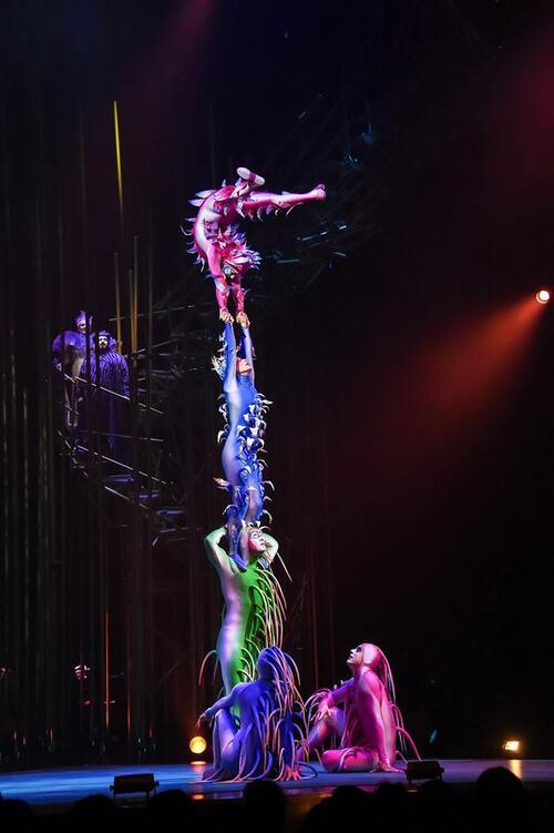 Първи билети с отстъпка за Цирк Дьо Солей в България