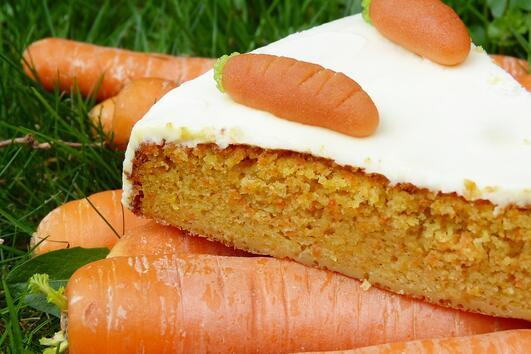 Морковен кейк за Великден