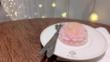 Желеобразни тортички с цветя