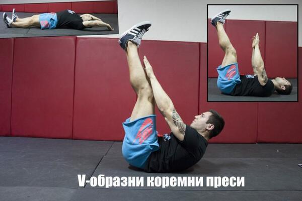 Упражнения за стегнат и плосък корем в домашни условия (Част 1)
