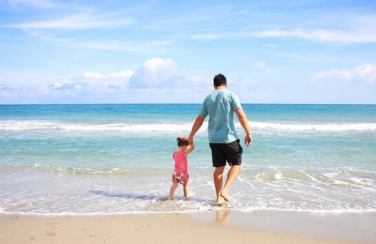 Работата на бащата е да научи дъщеря си как трябва да се отнасят с една дама