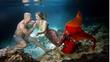 Невероятно предложение за брак под вода, достойно за русалки