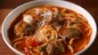 Супа със спагети и кюфтета