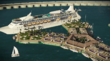 Първият плаващ град в Тихия океан през 2020 г.