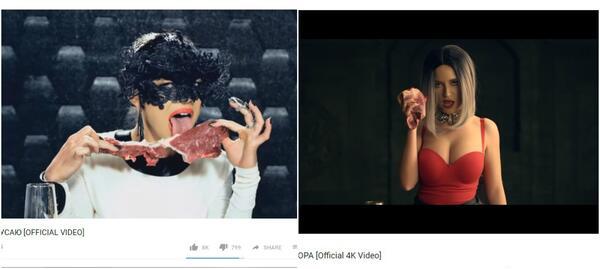 Наблюдателни феновe уличиха Тита в кражба в новото ѝ видео