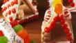 Коледни десерти: Мини коледни къщички