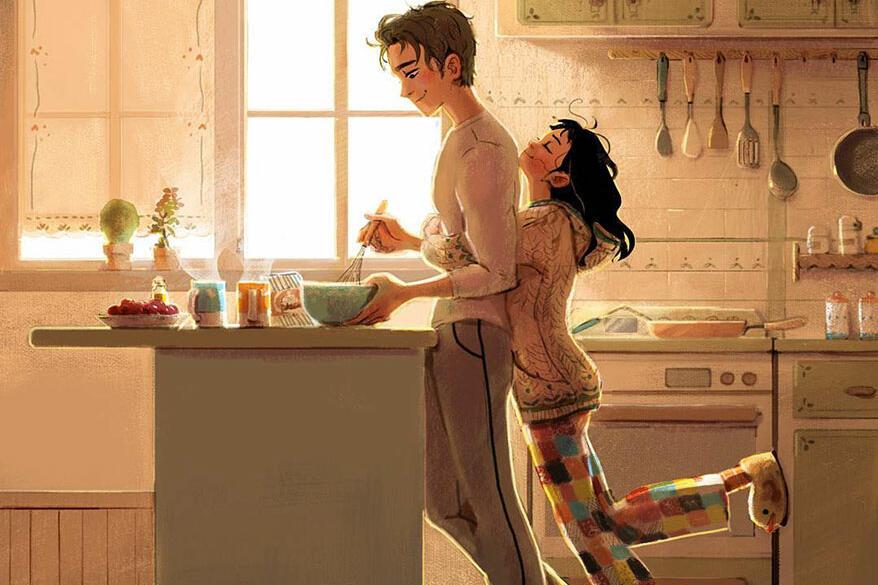 Хората са склонни да мислят, че любовта може да се
