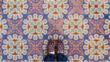 Ослепителните дизайни на мозайките в Куба