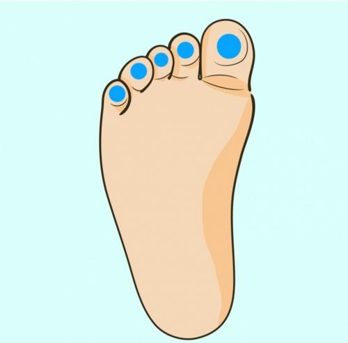 Ако бебето ви има проблеми със зъбите, носа или коремчето, опитайте да масажирате тези точки