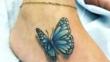 Красиви 3D татуировки с пеперуди