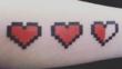 Интересни татуировки на пиксели