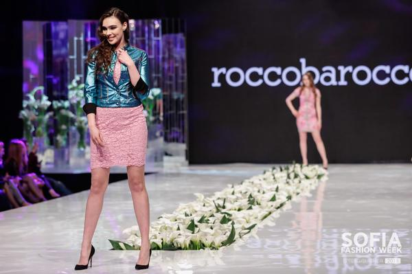 Италианските брандове ROCCOBAROCCO и CESARE PACIOTTI на сцената на Sofia Fashion Week SS 2018