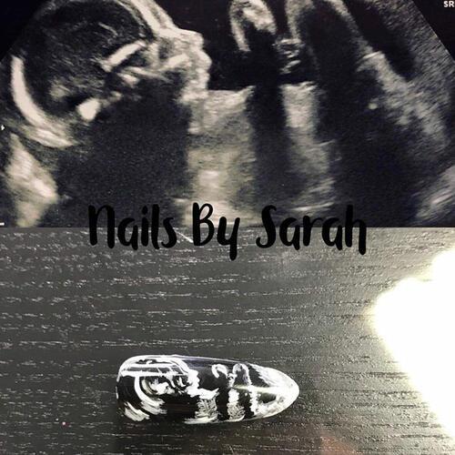 Маникюри с ултразвукови снимки на бебета
