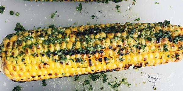 Супер лесна и вкусна грилована пикантна царевица