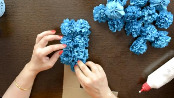 Как да направите сами декорация за парти във формата на буква или цифра (ВИДЕО)