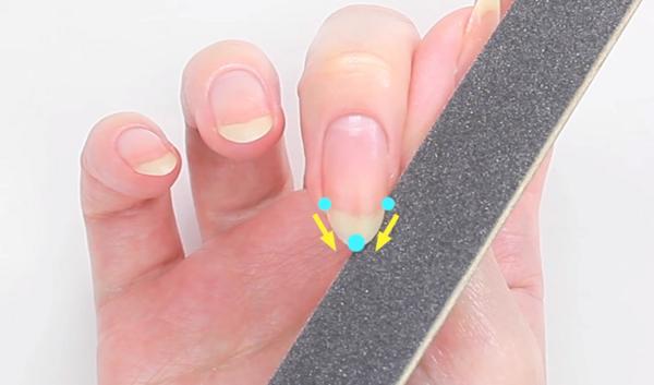 Как да направите ноктите си овални? (ВИДЕО)