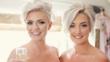 Красиви сватбени прически за къса коса