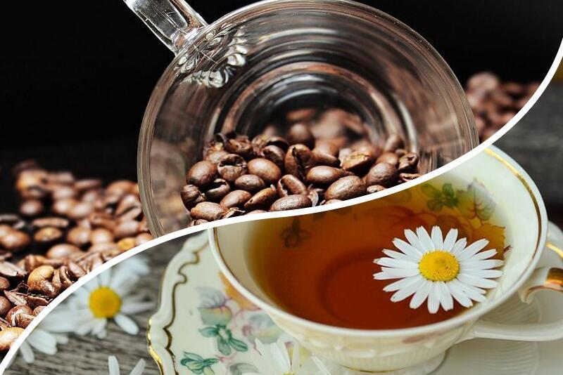 Войната между чая и кафето е реална и битката е