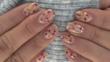 Красиви маникюри със сухи цветя