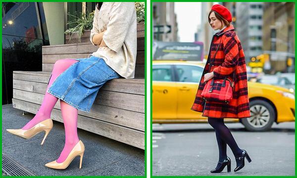 Как да комбинирате чорапогащи с обувки и дрехи правилно