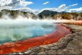 <p>Най-красивите термални извори, които сме виждали се намират в Нова Зеландия. Цветовете им са впечатляващи и нетипични за естествениводни басейни. Термалните резервати са постоянно висока температура и са идеално място за СПА процедури. Насладете се накрасивитекадри.</p>
