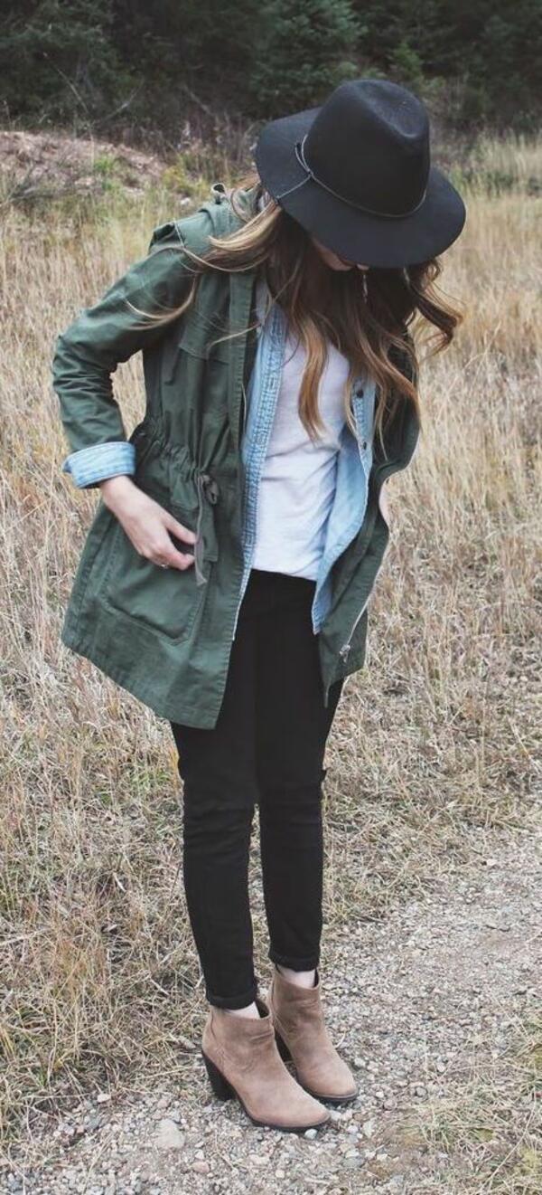 Как да съчетаем любимото дънково яке през студените дни?