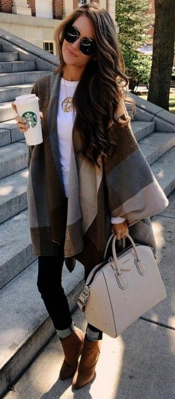 Как да носим различните видове шалове?