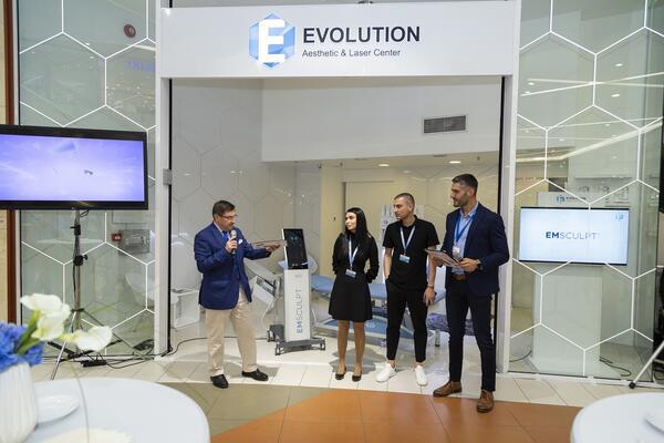 Революционна естетична процедура за изграждане на мускули за първи път в България